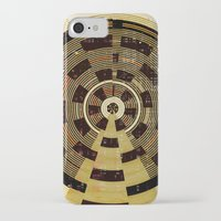 record iPhone & iPod Cases featuring Record by Tammy Kushnir