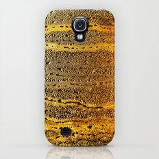 golden abstract Galaxy S4 Slim Case