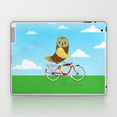 Owl Bicycle Laptop & iPad Skin