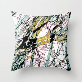 CRACKED CHINA Throw Pillow