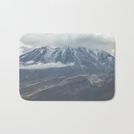 Close up view of volcano Chachani Bath Mat