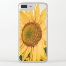 Open Upward Clear iPhone Case