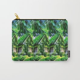 Green Homes Stereogram Carry-All Pouch