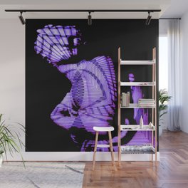 neo-fractical Wall Mural