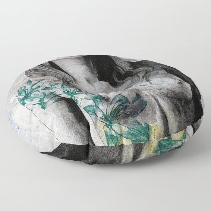 To The Marrow Floor Pillow
