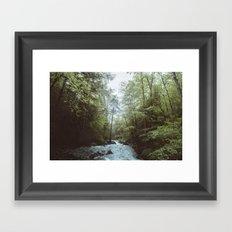 Rainbow Trail Framed Art Print