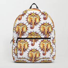 Elephant Mandala Backpack