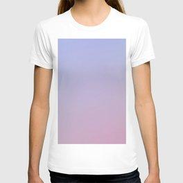 LAVENDER - Minimal Plain Soft Mood Color Blend Prints T-shirt
