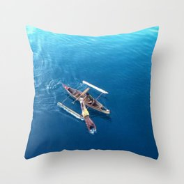 Dive For Some Coins Throw Pillow