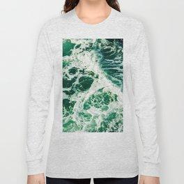 Green Seas Long Sleeve T-shirt