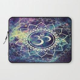 Om Mandala : Deep Pastels Galaxy Laptop Sleeve