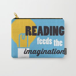 Imagination - Just Read Carry-All Pouch