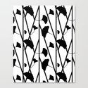 Black and white ginkgo by freshbaked