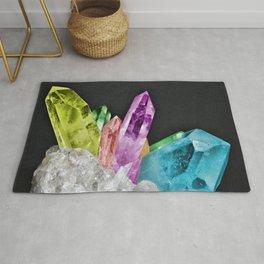 Chakra Rock Crystal - Geode Series Rug