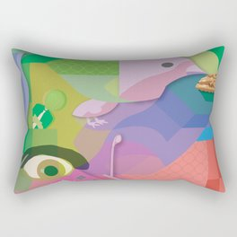 Absurdism Rectangular Pillow