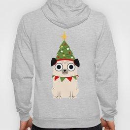 It's Christmas for Pug's Sake Hoody