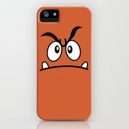 Minimalist Goomba iPhone Case