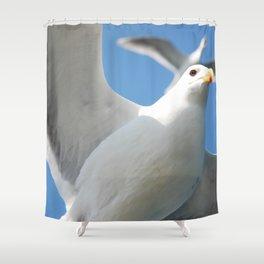 Flight buddies! Shower Curtain