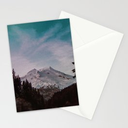 Pacific Northwest Mountain Magic Landscape Stationery Cards