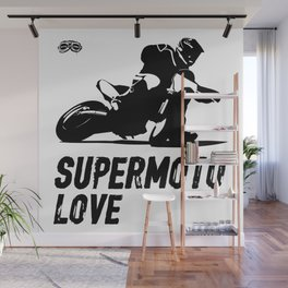 Supermoto Love Wall Mural