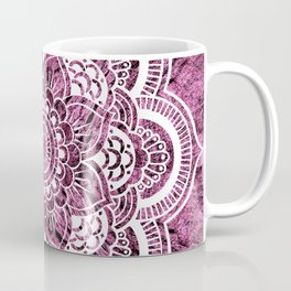 Mandala Mauve Colorburst Coffee Mug