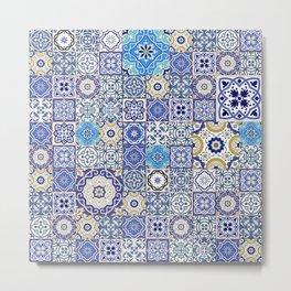 mosaico Metal Print