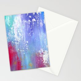 Soft Abstract Stationery Cards