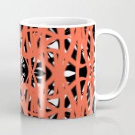 Orange | Saro-Gongo Pattern Design Coffee Mug