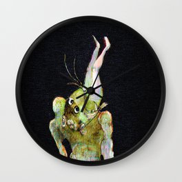 Monstre  Wall Clock