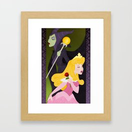 The Thorn and the Rose Framed Art Print