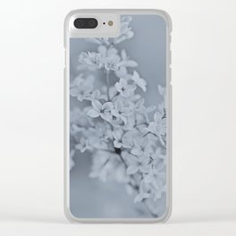 Syringa Blossoms Clear iPhone Case