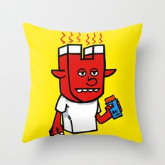 enigmatic todd Throw Pillow