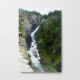 Woodbine Falls Metal Print