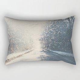 driving home for Christmas ... Rectangular Pillow