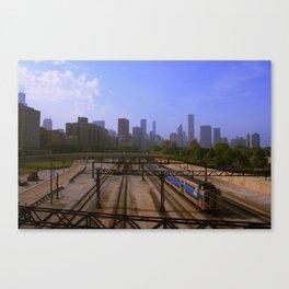 Chicago Transit Authority Canvas Print