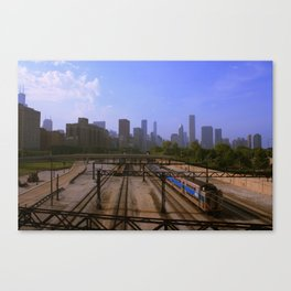 Chicago Transit Authority Canvas Print