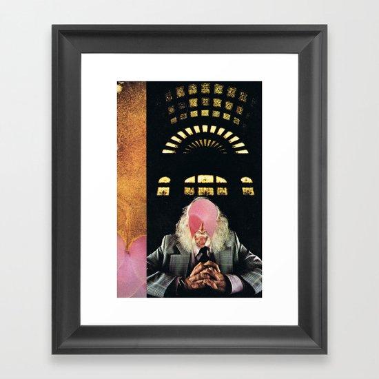 the scientist (1978) Framed Art Print