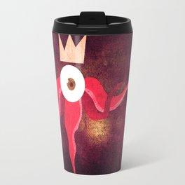 Red King Octopus Travel Mug