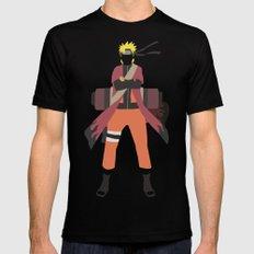 Sage Naruto Mens Fitted Tee MEDIUM Black
