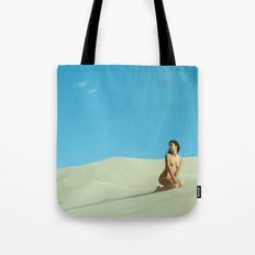in the still sands of leave Tote Bag