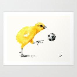 Chic Kicks Art Print