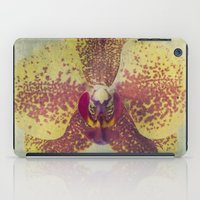 orchid iPad Cases featuring Orchid  by Honey Malek