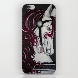 Gypsy Vanner Horse iPhone Skin