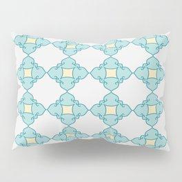 Aqua Moroccan Pillow Sham