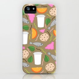 Snack Snack iPhone Case