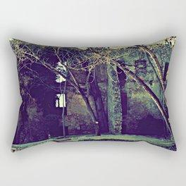 Old garden keeps secrets Rectangular Pillow