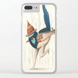 Fairy Wren Clear iPhone Case
