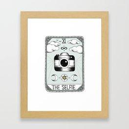 The Selfie Framed Art Print