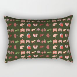 Go Organic Pattern Rectangular Pillow
