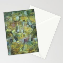 Paul Klee God of the Northern Forest Stationery Cards